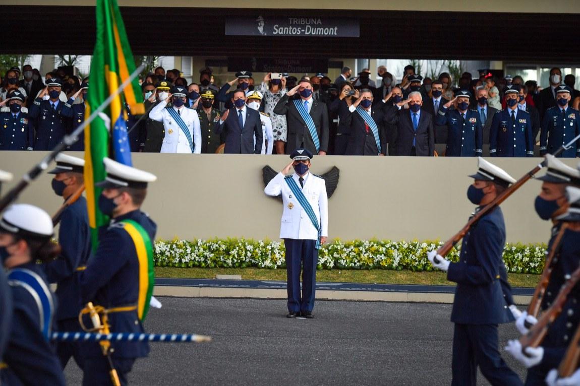 Tenente-Brigadeiro do Ar Baptista Júnior assume Comando da Aeronáutica