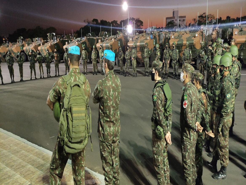 Adestramento de militares brasileiros para missões de paz conduzidas pela ONU