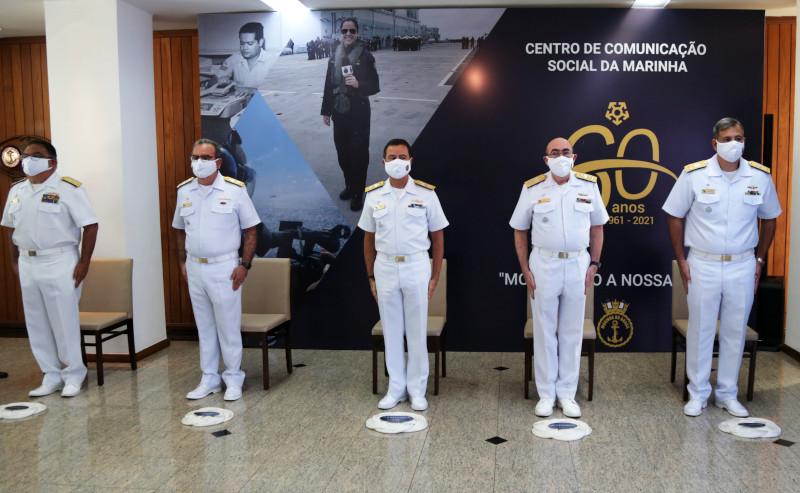 CCSM comemora os 60 anos da Comunicação Social na Marinha com o lançamento da nova logomarca