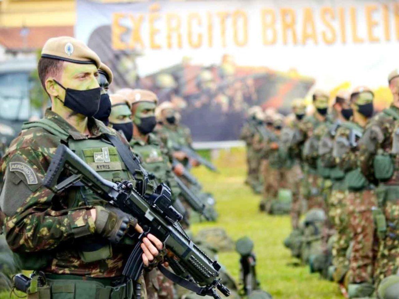 Força-Tarefa Ipiranga realiza apronto operacional para o Comandante Militar do Sudeste