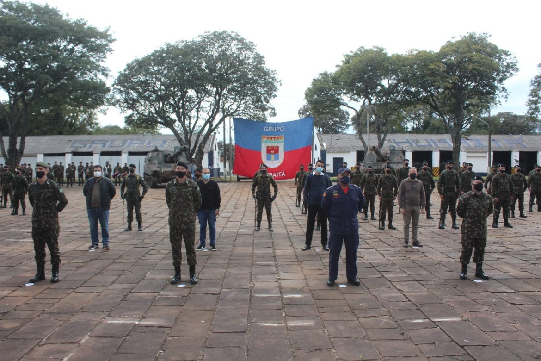 Cerimônia celebra 190 anos de Grupo de Artilharia do Exército em Cruz Alta (RS)