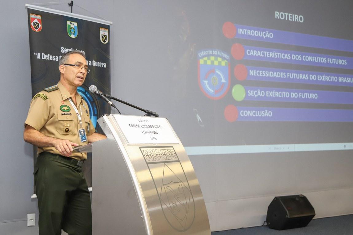 Defesa incentiva formação de militares em cibernética