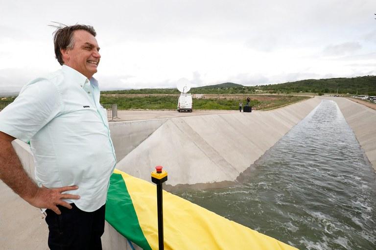 Entregue novo trecho do Canal do Sertão Alagoano