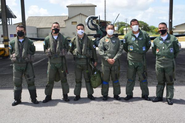 Esquadrão Joker recebe Vice-Almirante em Parnamirim (RN)