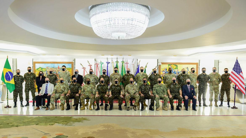 Exército Brasileiro realiza Conferência Bilateral de Estado-Maior com os Estados Unidos