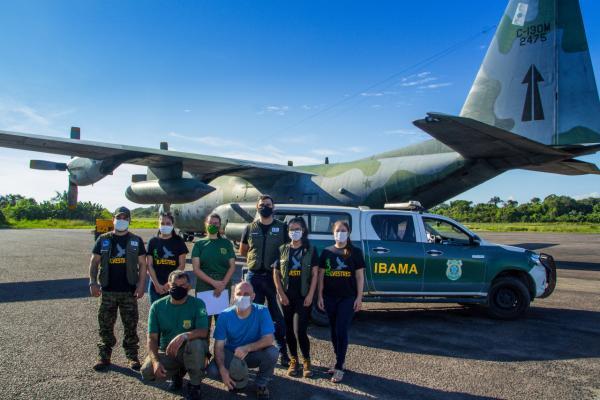 FAB realiza transporte de animais silvestres de Manaus (AM) para Goiânia (GO)
