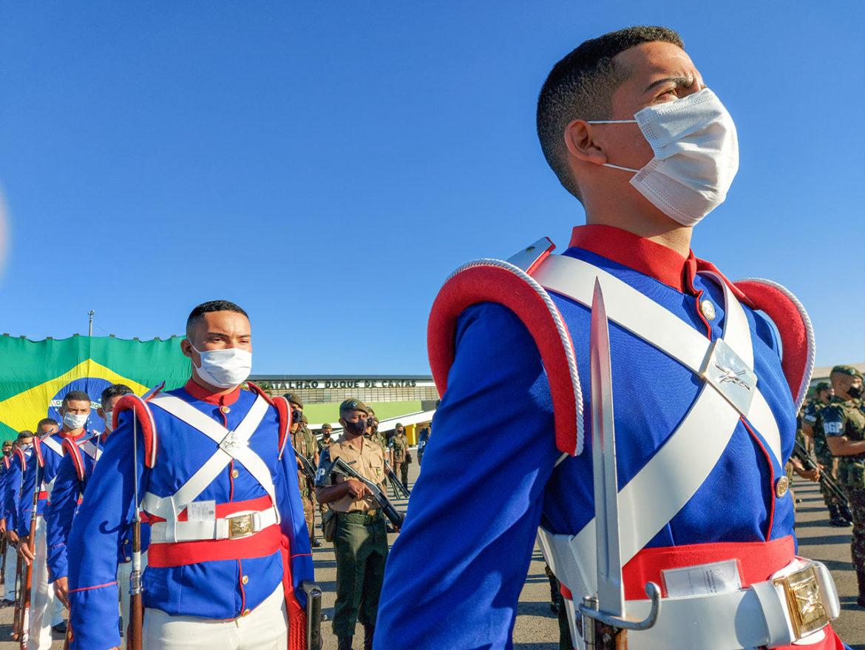Batalhão da Guarda Presidencial revive o período da Grande Guarda
