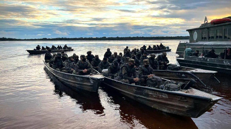 Batalhão de Infantaria de Selva desloca militares para a Operação Amazônia