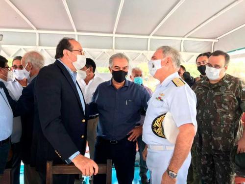 Marinha do Brasil participa de evento que visa consolidar Rota Bioceânica Brasil-Chile