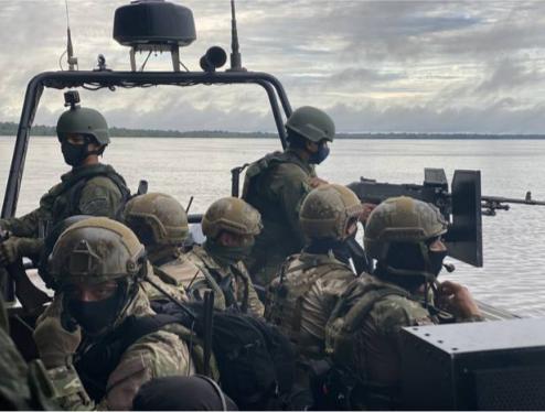 Militares apreendem 1,8 tonelada de entorpecentes em região amazônica da Tríplice Fronteira