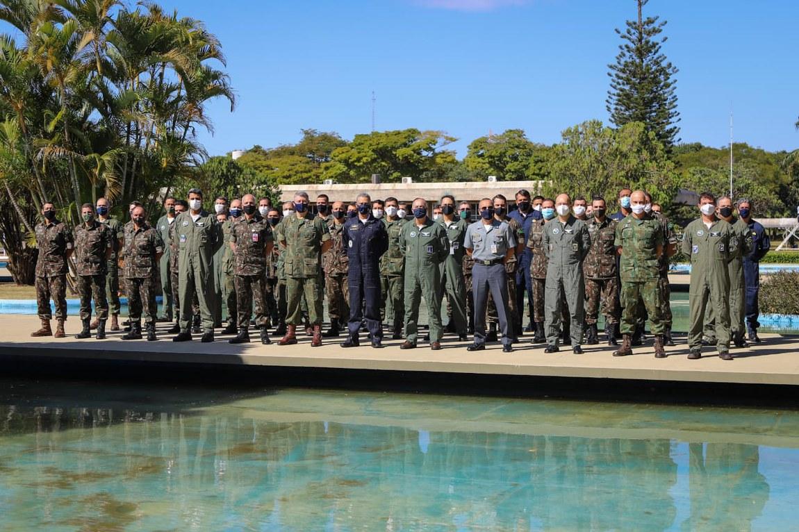Militares concluem reunião intermediária de adestramento para Exercício Conjunto Meridiano