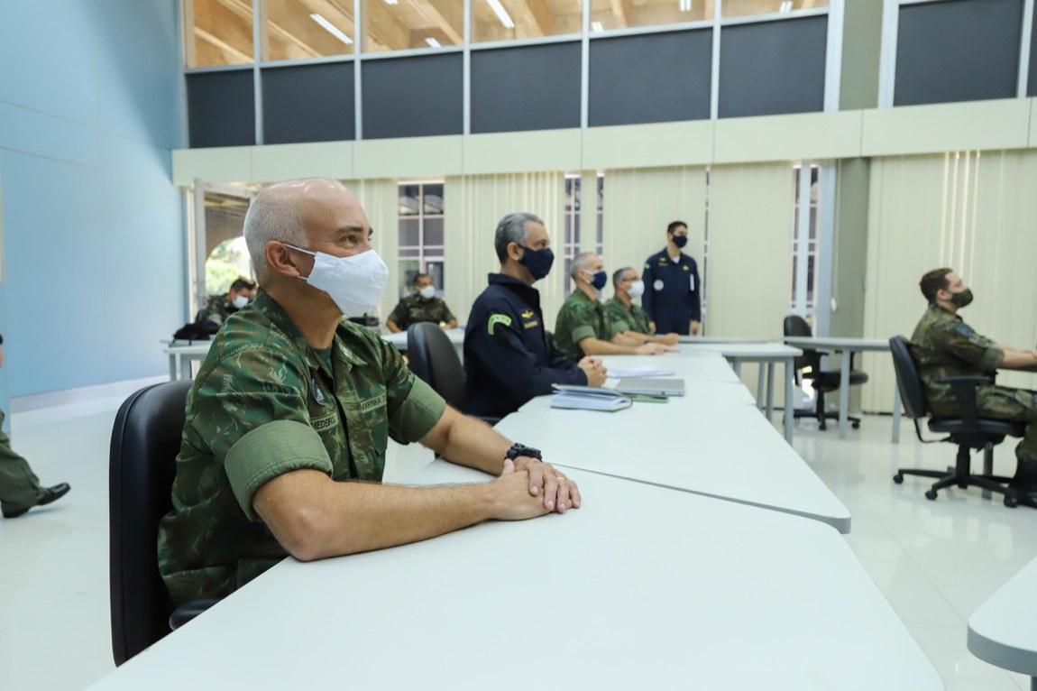 Militares participam de mais uma etapa do Exercício Meridiano