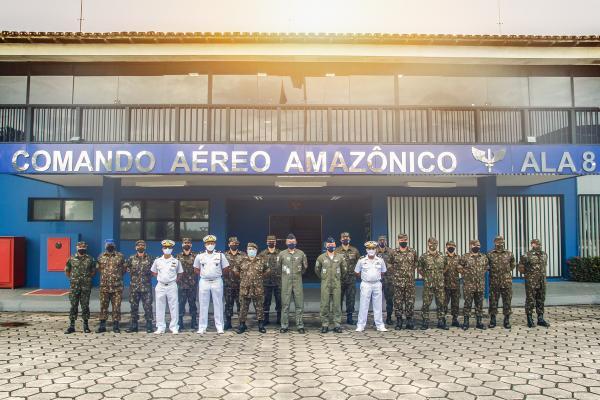 VII COMAR reúne militares das Forças Armadas em Manaus (AM)