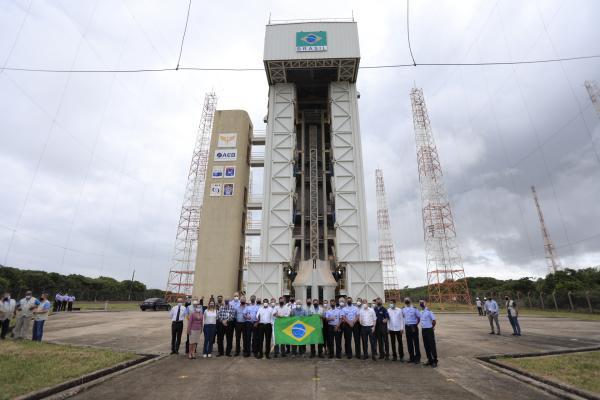 Vice-Presidente da República visita Centro de Lançamento de Alcântara, no Maranhão