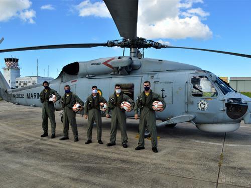 1° Esquadrão de Helicópteros Antissubmarino atinge marca de 8.000 horas de voo em aeronaves SH-16 Seahawk