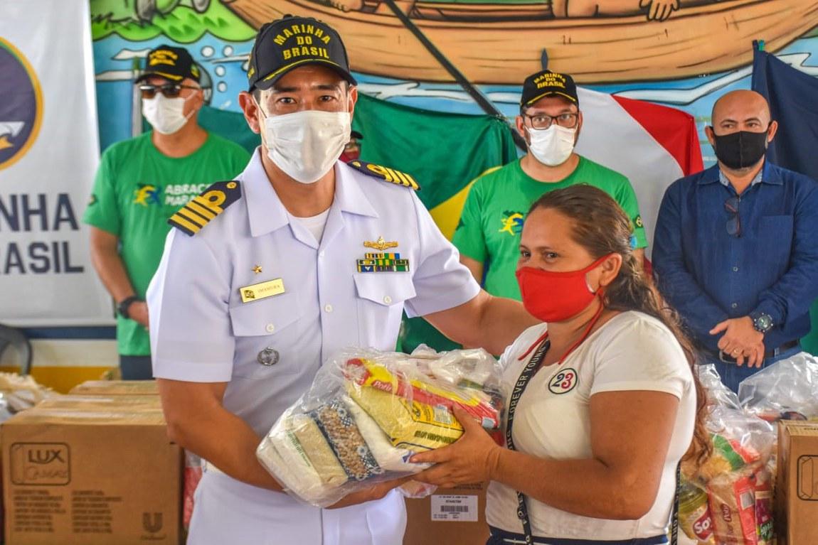 Ação interministerial possibilita entrega de 4 mil cestas básicas em Melgaço, no Pará