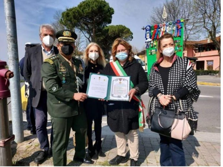 Exército participa de solenidade em capela construída pela FEB na Itália