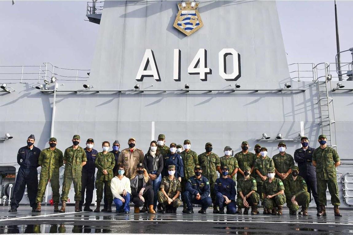 Centro de Operações de Paz de Caráter Naval conclui I Estágio de Operações Humanitárias
