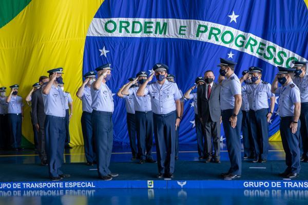 Cerimônia em Brasília comemora os 80 anos do Grupo de Transporte Especial