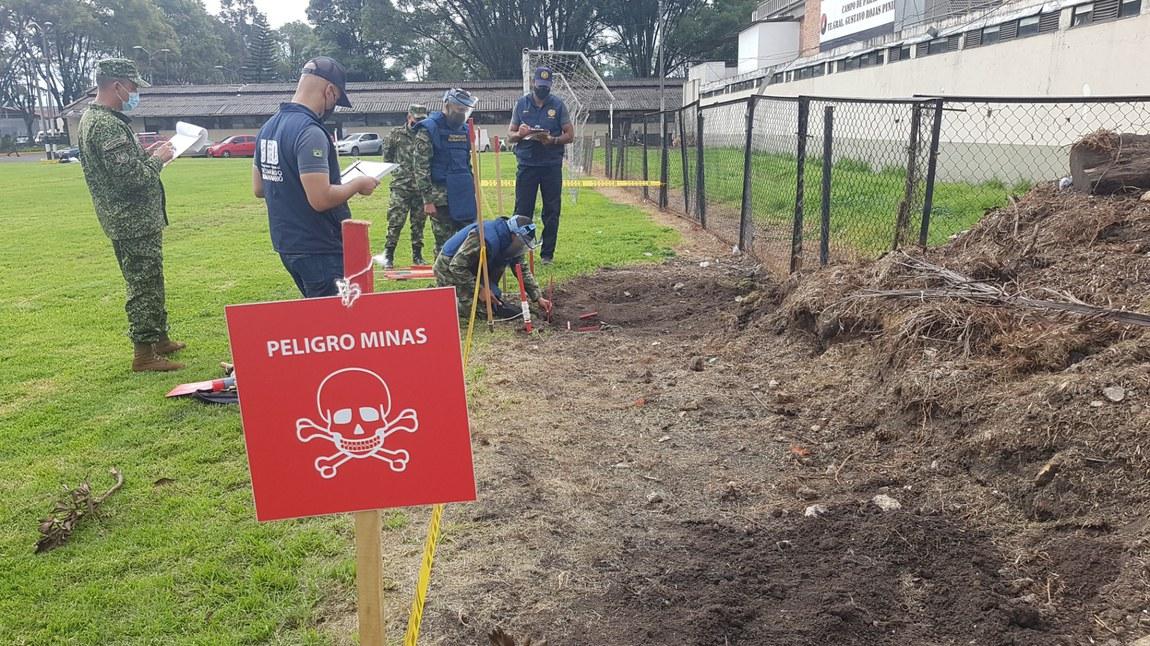 Apoio brasileiro a desminagem na Colômbia completa seis anos