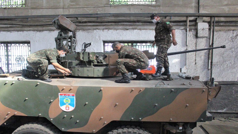 Arsenal de Guerra do Rio desenvolve manutenção de sistemas de armas remotamente controlados