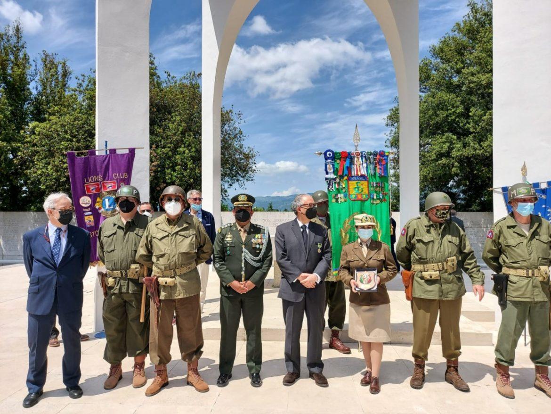 Cerimônia na Itália comemora 55 anos de monumento para a Força Expedicionária Brasileira