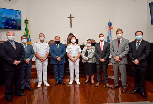 Comandante da Marinha visita o Tribunal Marítimo