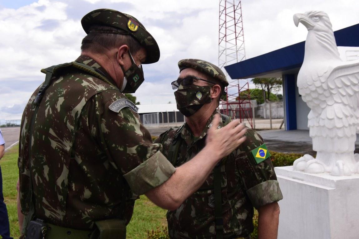 Comitiva do Ministério da Defesa conclui visita às unidades militares da região da Amazônia acompanhando as atividades da Operação Acolhida