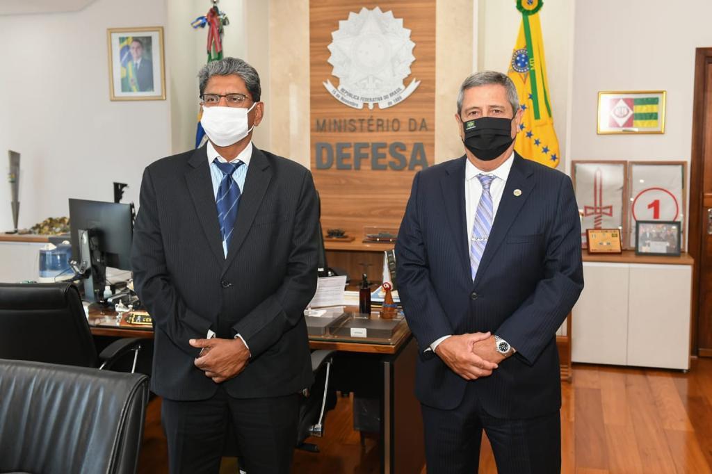 Embaixador da Índia visita Ministério da Defesa