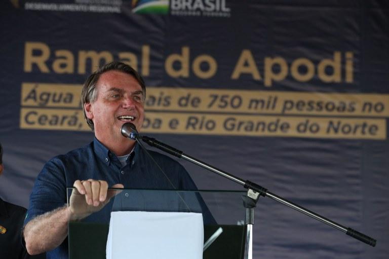 Governo autoriza início da construção do Ramal do Apodi