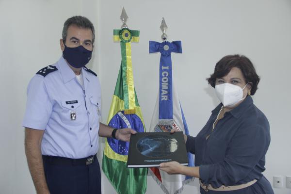 I COMAR recebe visita da Presidente do Tribunal Regional Eleitoral do Pará