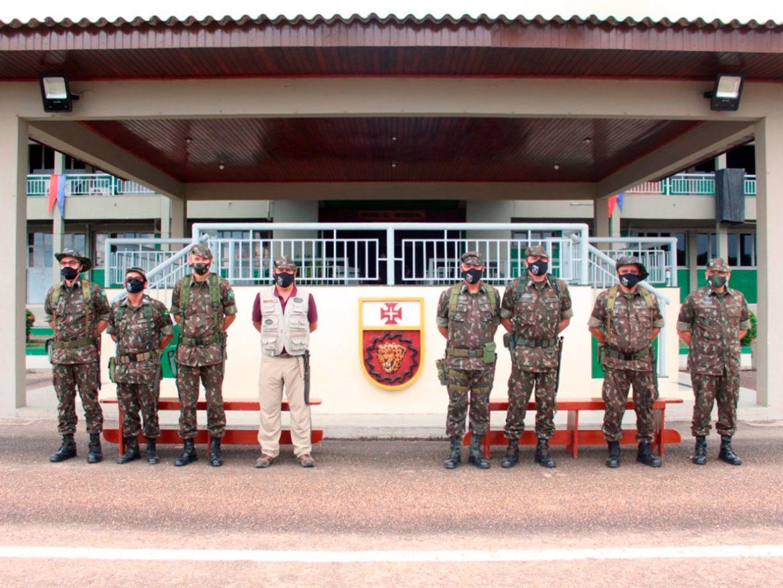Ministro da Defesa e Comandante do Exército visitam guarnição de Boa Vista (RR)