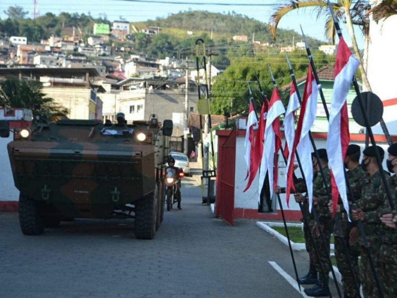 4º Esquadrão de Cavalaria Mecanizado comemora 100 anos de Blindado