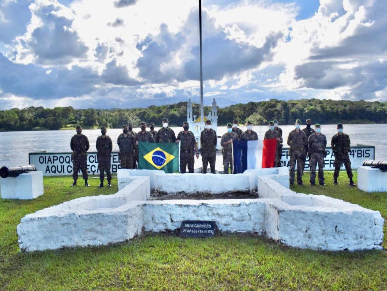 Operações militares do Brasil e da Guiana Francesa são coordenadas na faixa de fronteira para ocorrer simultaneamente
