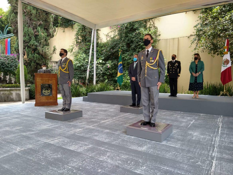 Aditância Militar do Brasil no México recebe novo adido