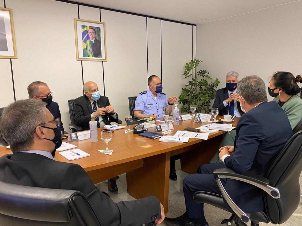 Apoio e ampliação do PROFESP marca encontro entre secretários