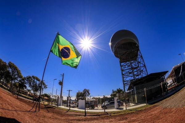 Estação Radar em Ponta Porã (MS) é inaugurada pela Força Aérea Brasileira