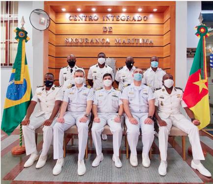 CISMAR promove estágio prático para militares da Marinha Nacional de Camarões