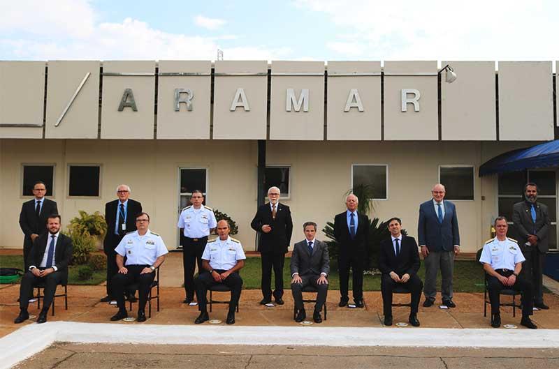 Centro Industrial Nuclear de Aramar recebe visita da Agência Internacional de Energia Atômica
