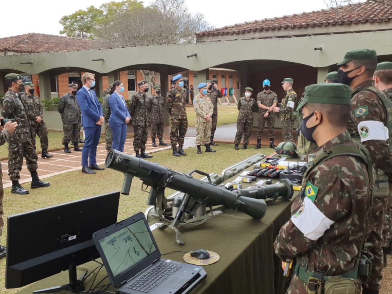 Centro de Adestramento-Sul participa das atividades de inspeção da ONU