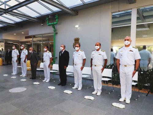 Comando da Força de Submarinos é transferido para o Complexo Naval de Itaguaí