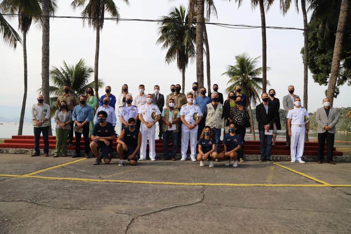 Comitiva interministerial realiza visita institucional aos núcleos do Programa Forças no Esporte e Projeto João do Pulo