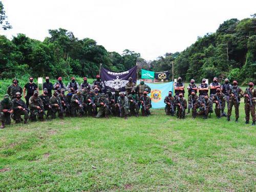 Destacamento de Fuzileiros Navais de Tabatinga realiza exercício de Tiro de Combate