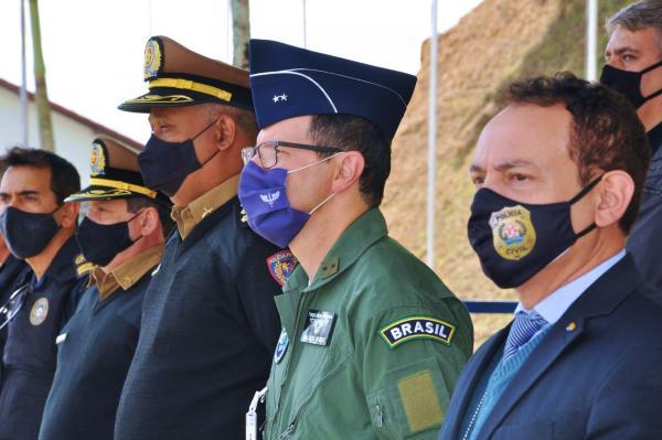 EPCAR homenageia Batalhão da Polícia Militar de Minas Gerais
