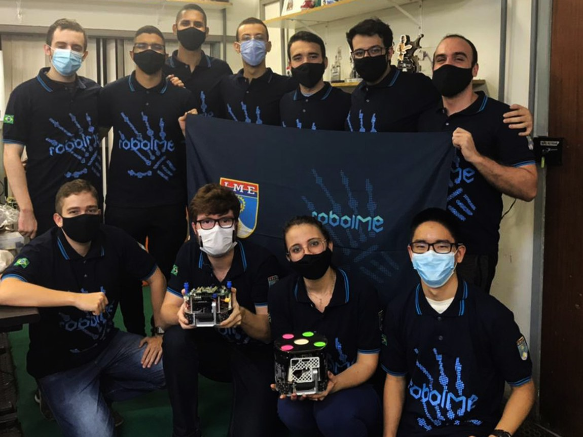 Equipe do Instituto Militar de Engenharia é vice-campeã da maior competição de robótica do mundo