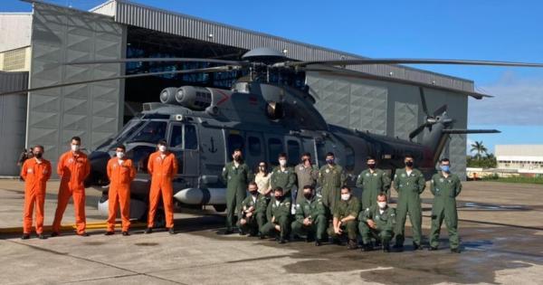 FAB certifica míssil em helicóptero da Marinha do Brasil (MB)