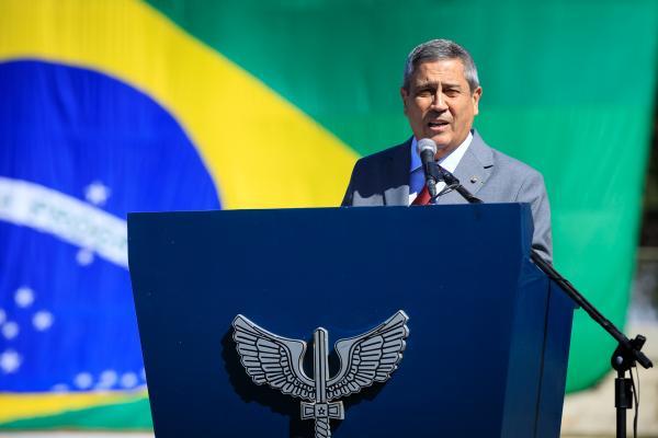 FAB comemora 148º aniversário de Santos-Dumont durante cerimônia em Brasília