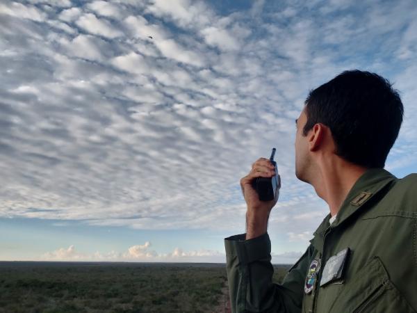 Futuros pilotos de caça da FAB iniciam instrução de emprego ar-solo