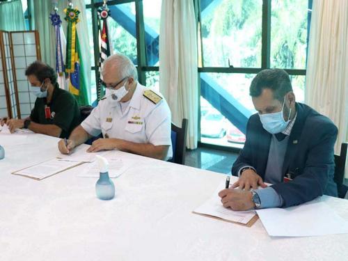 Com8ºDN celebra Termo de Cooperação com a Secretaria de Infraestrutura e Meio Ambiente do Estado de São Paulo