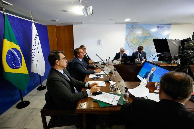 Brasil assume a presidência temporária do Mercosul